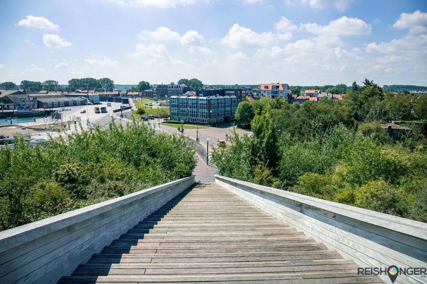 Fietsen naar Breskens Zeeuws Vlaanderen