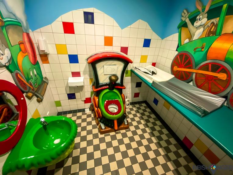 Kindertoilet treinmuseum Utrecht