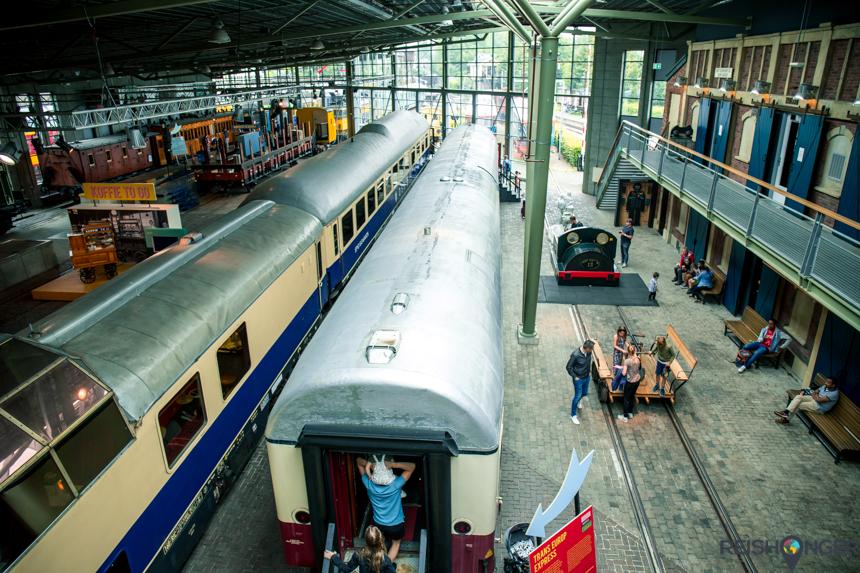 Museumhal Spoorwegmuseum Utrecht