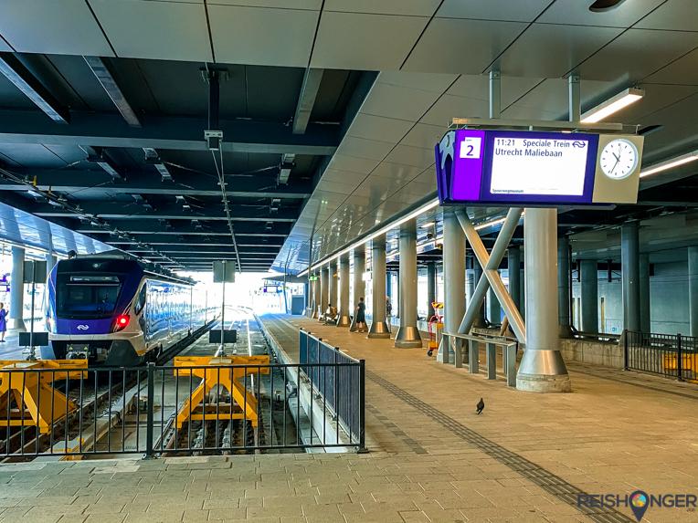 Utrecht trein naar Maliebaan