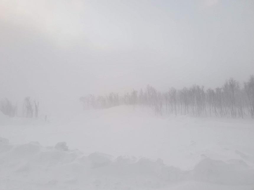 Bjorkliden Sneeuwstorm