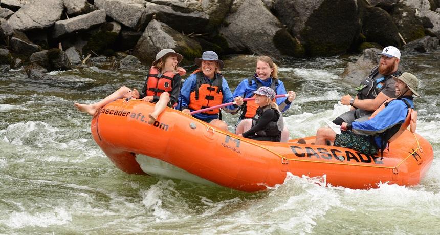 Cascade Raft Idaho