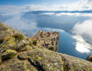 Heerlijk nazomeren in Noorwegen, wat een ruimte!