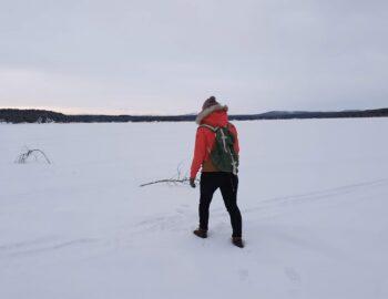 Kiruna, een markant mijnstadje