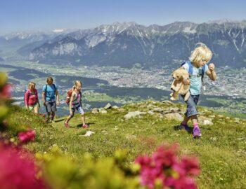 De frisse berglucht van Innsbruck