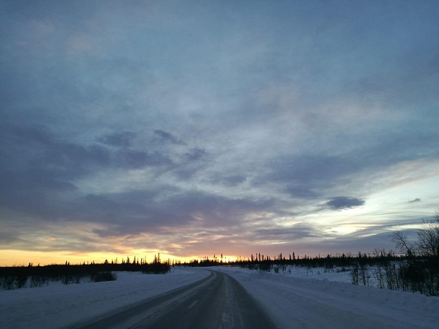 winters Zweeds Lapland