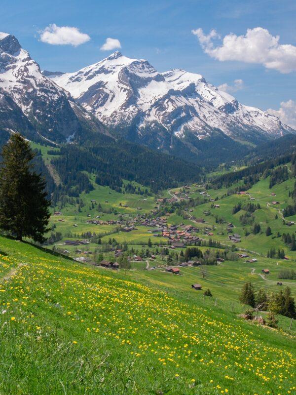 bestemmingen in Zwitserland Berner Oberland