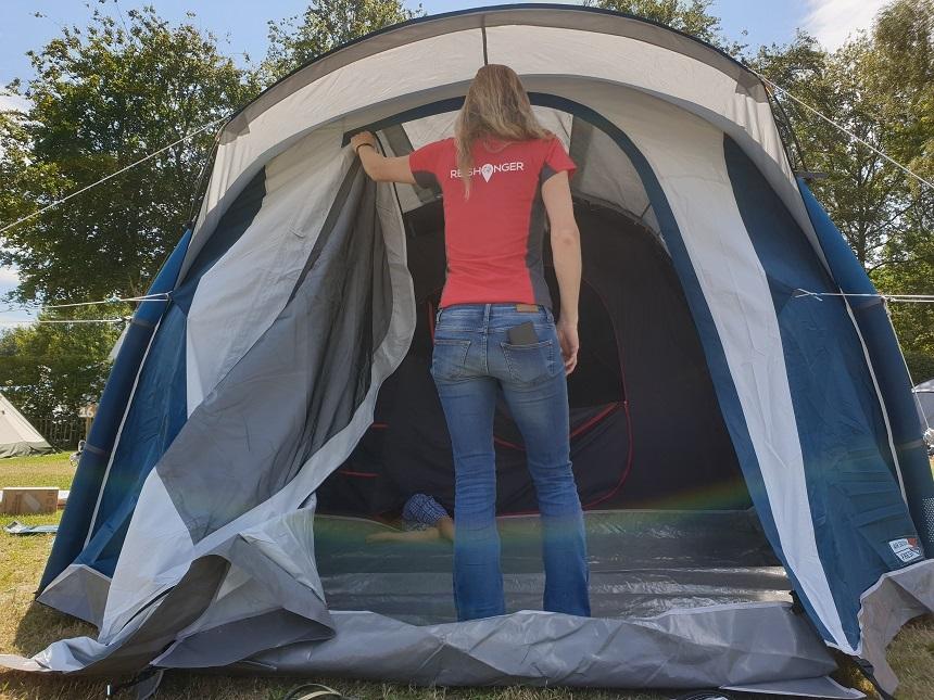 decathlon opblaasbare tent