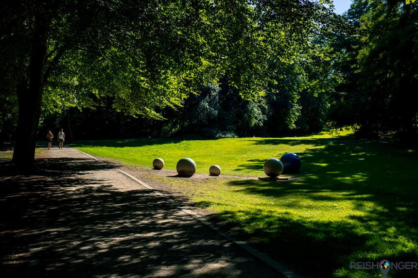 Oberhausen Duitsland Kaisergarten
