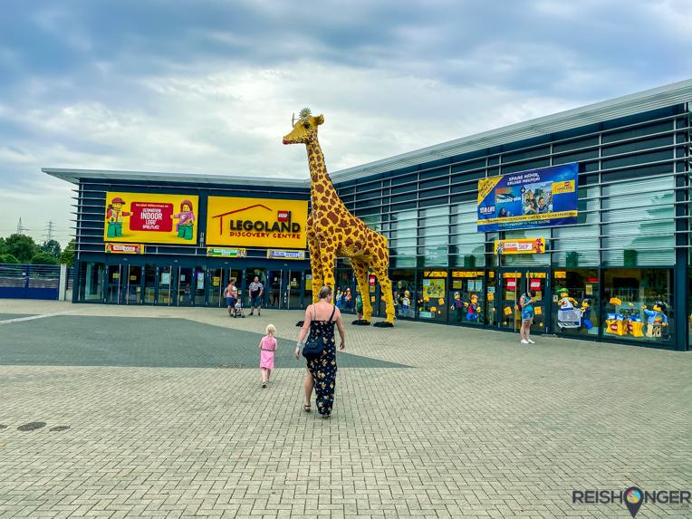 Oberhausen Duitsland Lego Discovery Center Centro