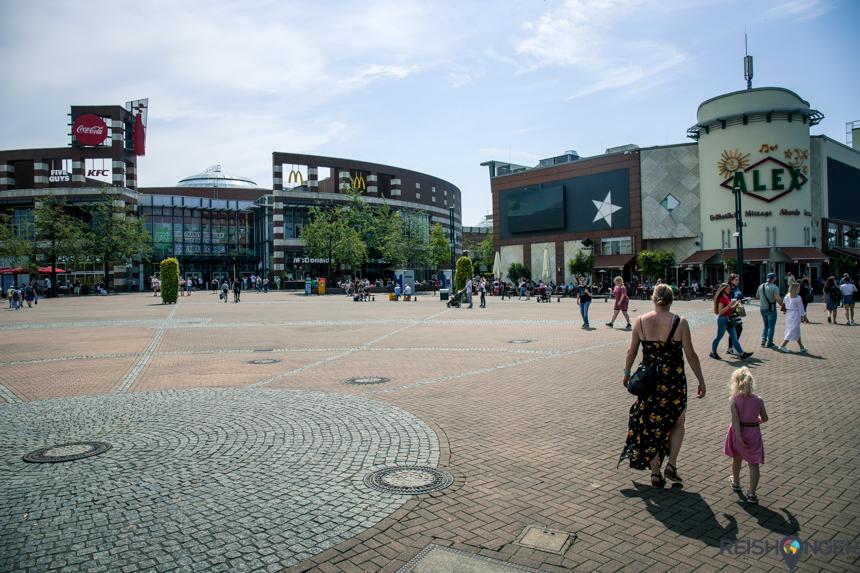 Oberhausen Duitsland Centro
