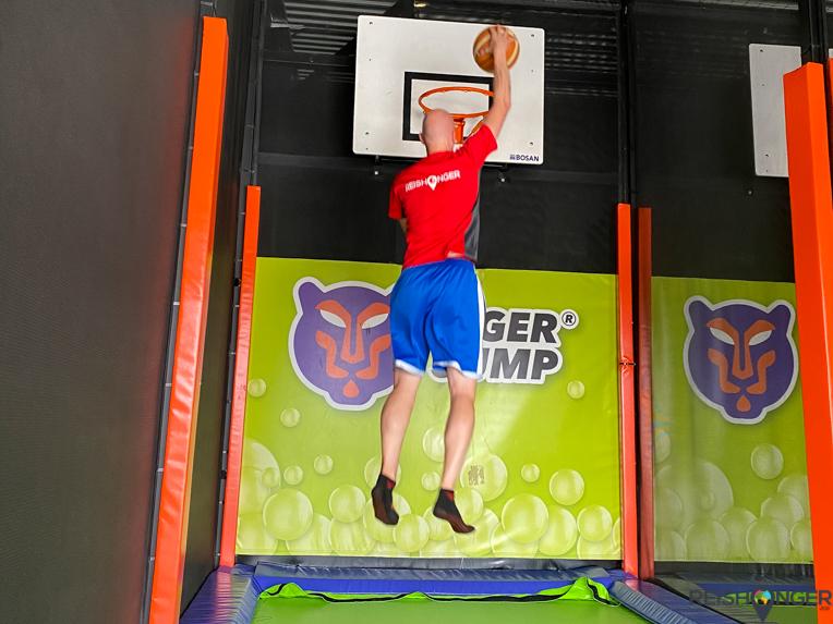 Oberhausen Duitsland Tiger Jump