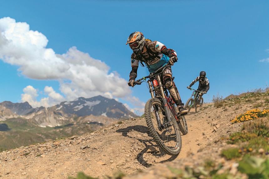 Downhill MTB Frankrijk