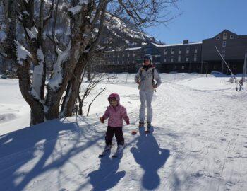 Familie wintersport met UCPA