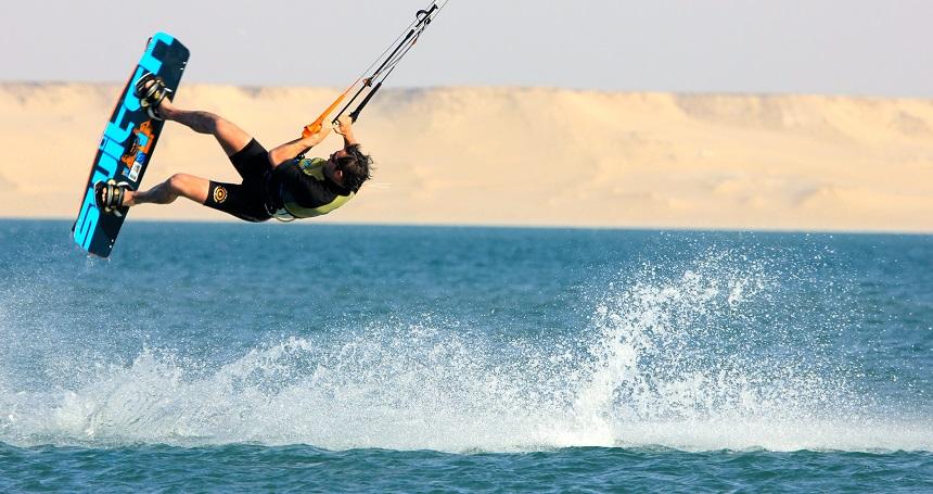 Kitesurfen in Dakhla met UCPA