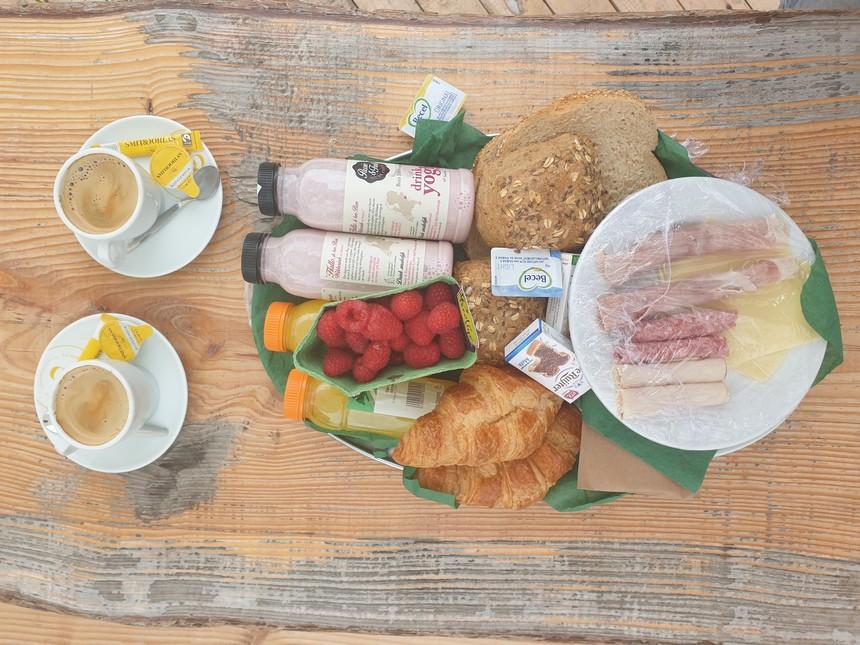 Lokaal ontbijt East Nomads