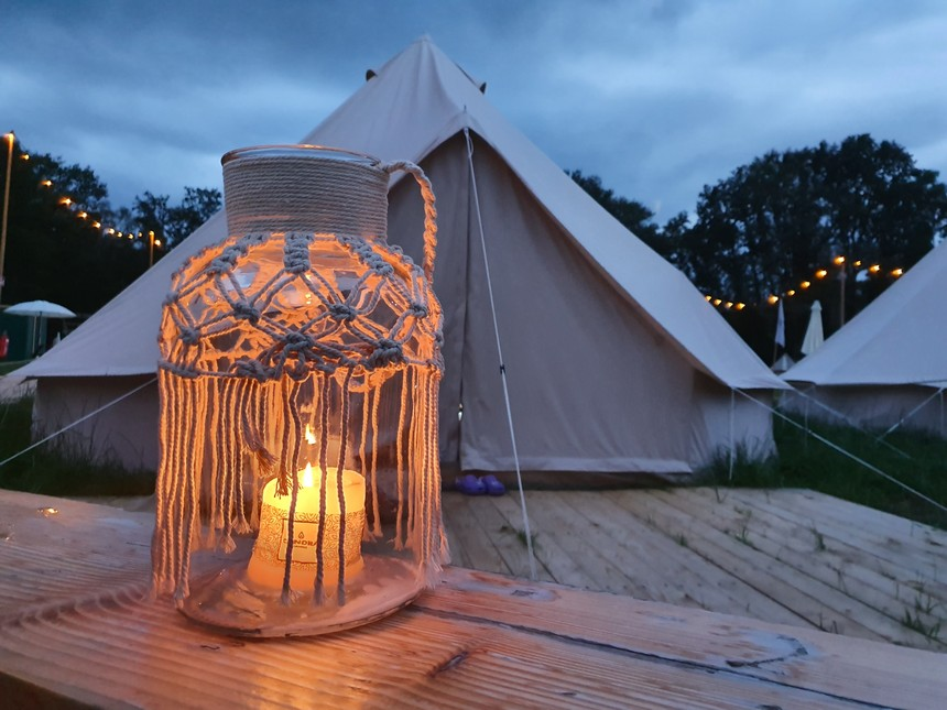 pop-up camping east nomads