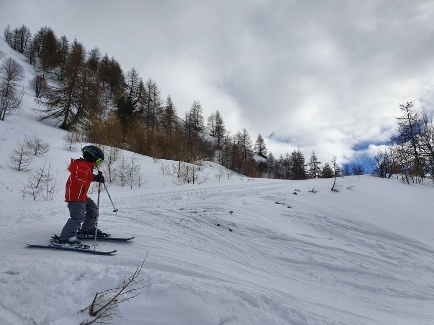 Leren skiën 5 jaar