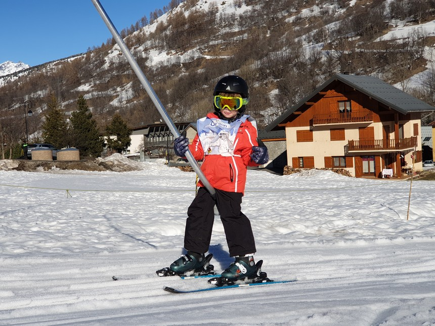 Verneys-beginnerslift - skischool ESF Titourson