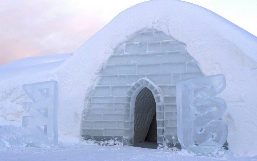 ijssuite in SnowVillage