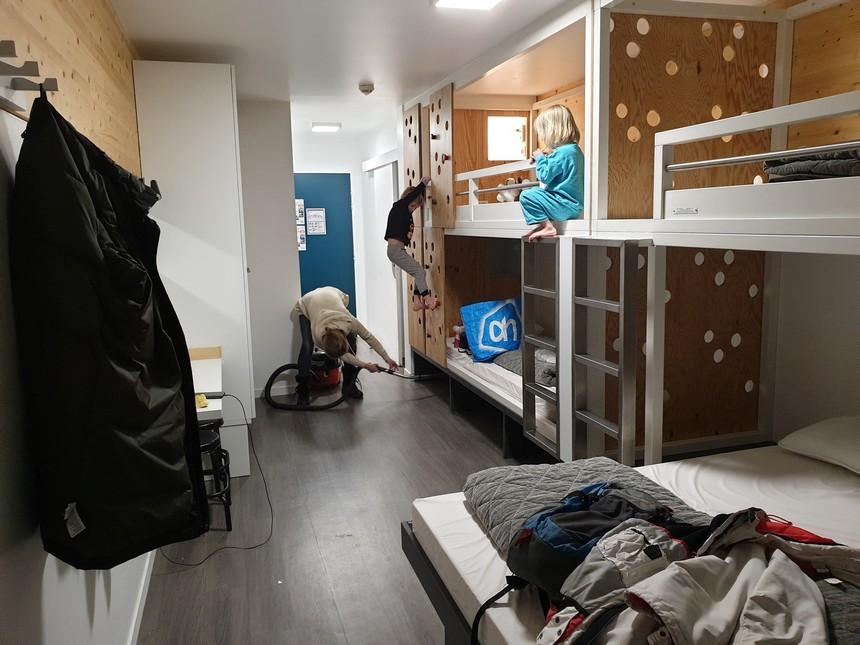 ucpa kamer schoonmaak