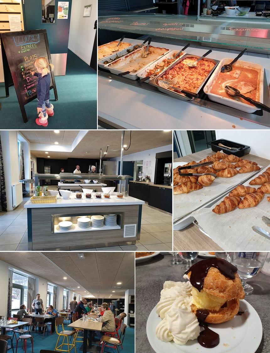 Eten en drinken is goed geregeld bij UCPA