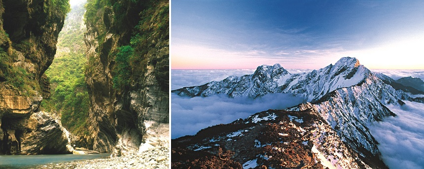 Taiwan heeft adembenemende berggebieden, van Taroko Gorge tot Yushan Mountain
