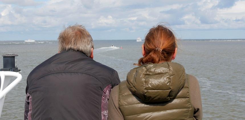 Met de veerboot naar Norderney in 50 minuten