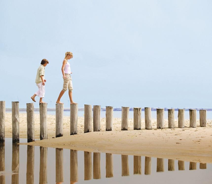 Vakantieparken aan zee in Nederland