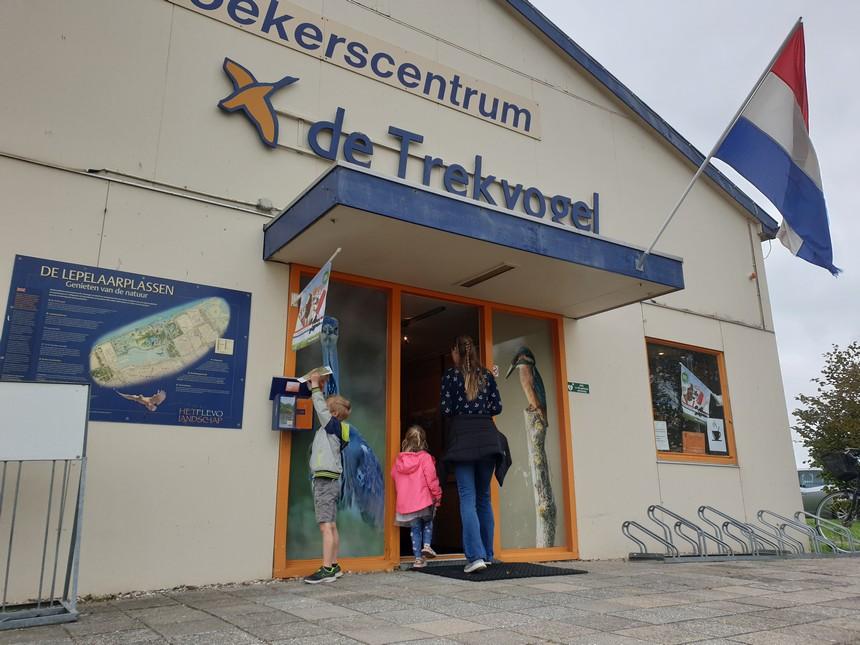 bezoekerscentrum de trekvogel entree