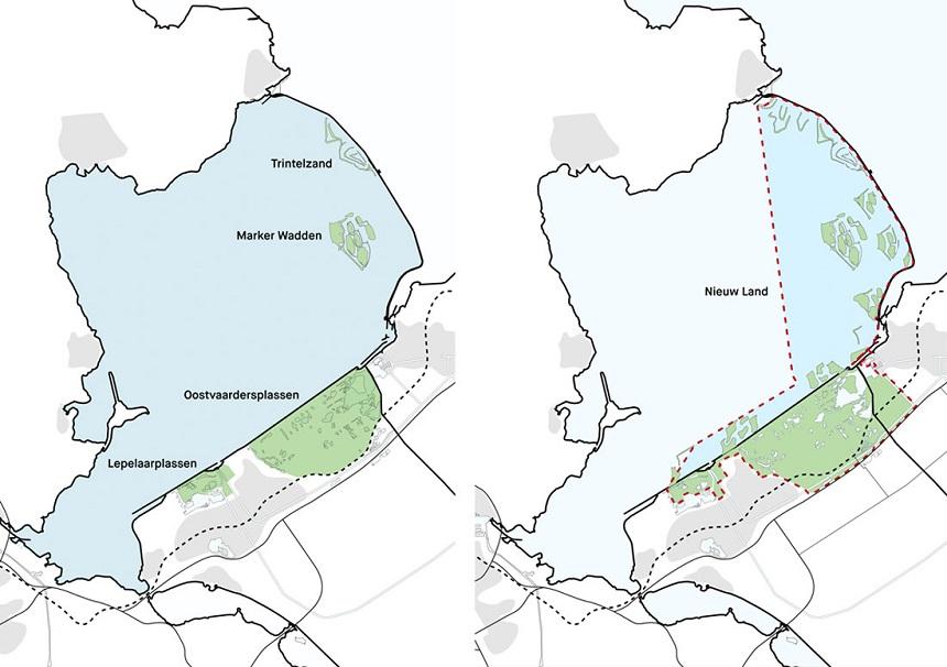 Nieuw Land wordt een nationaal park nieuwe stijl, aldus Francine Houben van architectenbureau Mecanoo