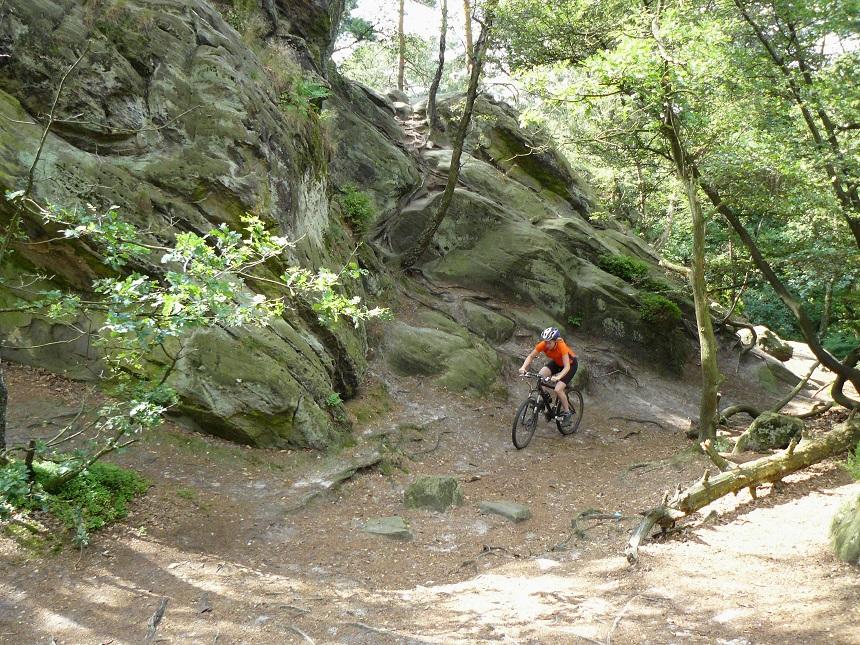 Mountainbiken Teutoburgerwald - Dörenther Klippen
