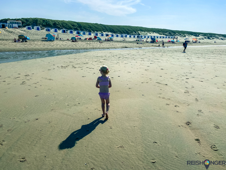 Strand bij Paal 21 Texel