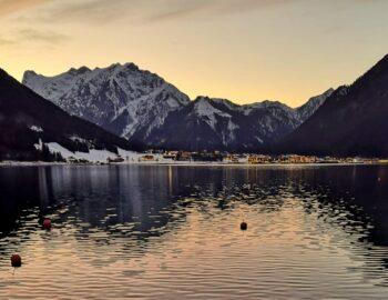 Achensee: berg en meer