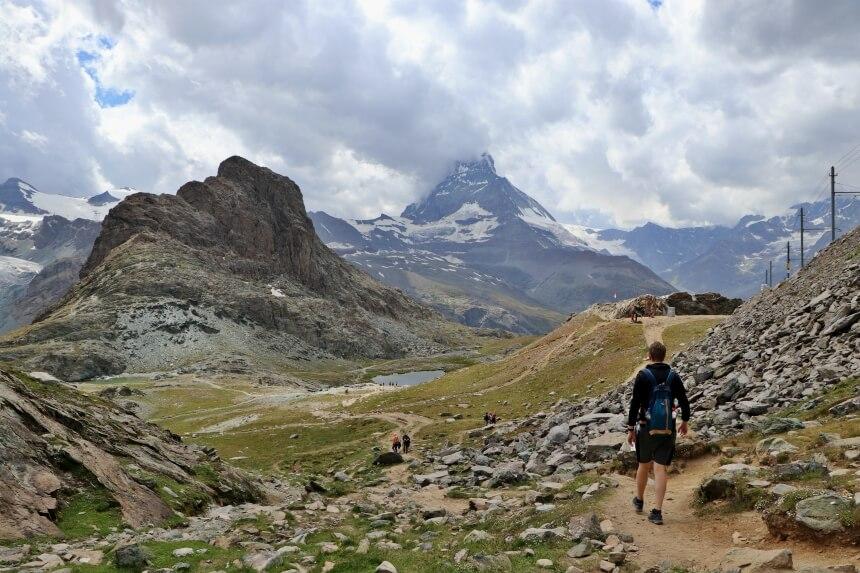 Aanrader: hike van Gornergrat naar Riffelberg