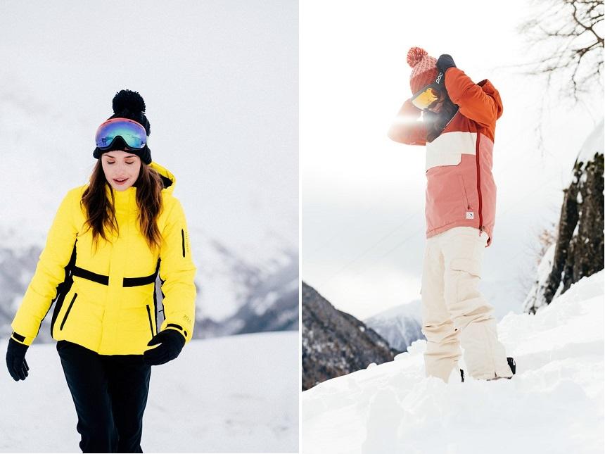 De nieuwe collectie skikleding is een fusie van evoluerende modetrends, prachtige kleuren en functionaliteit