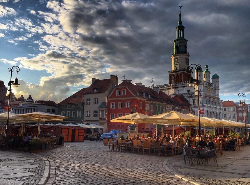 Oude Markt - Stary Rynek - centrum Poznan