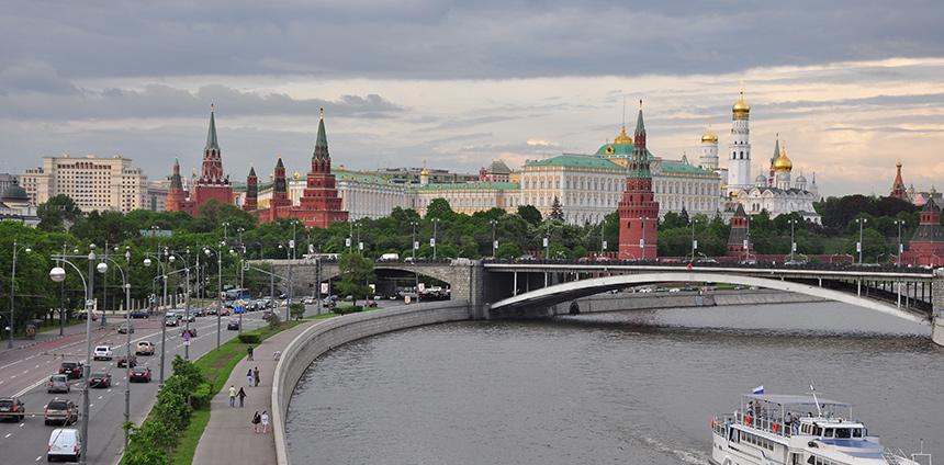 Moskou - Heen en Onweer