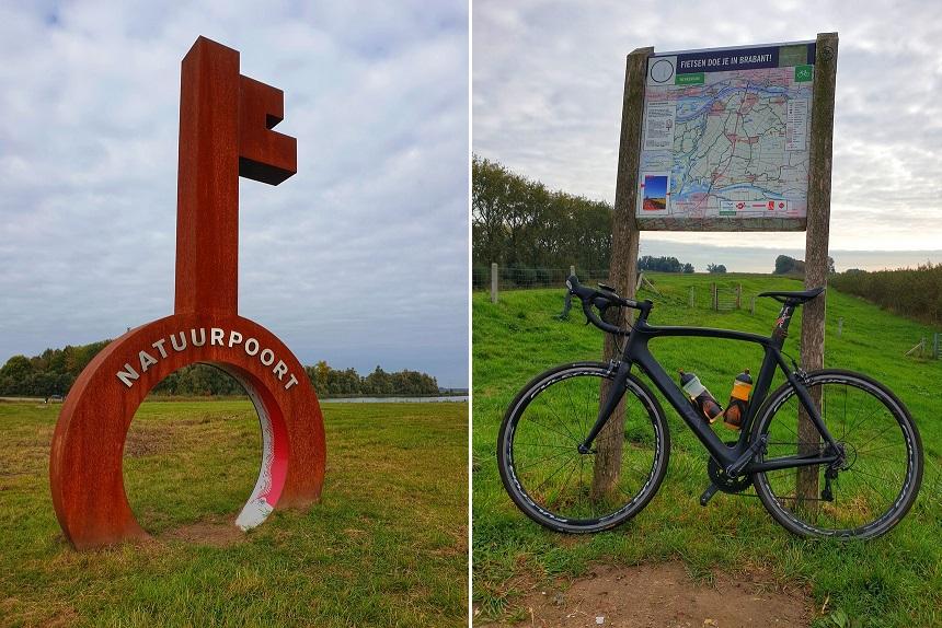 Natuurpoort en fietsen in de Biesbosch