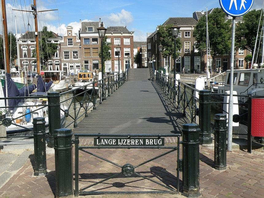 Lange IJzeren brug Dordrecht