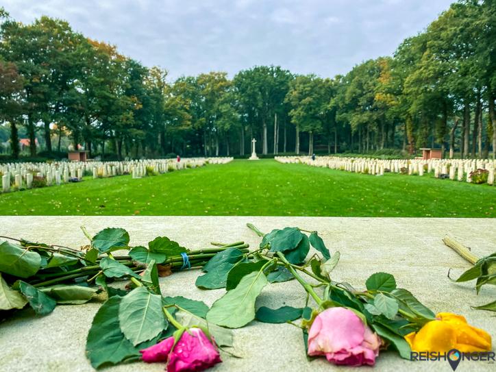 Klompenpad Rosandepad - Airborne War Cemetery
