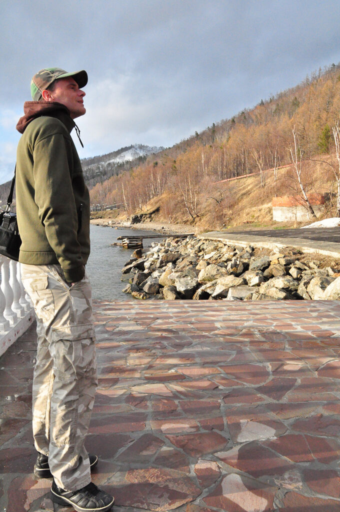 Def P aan het Baikalmeer