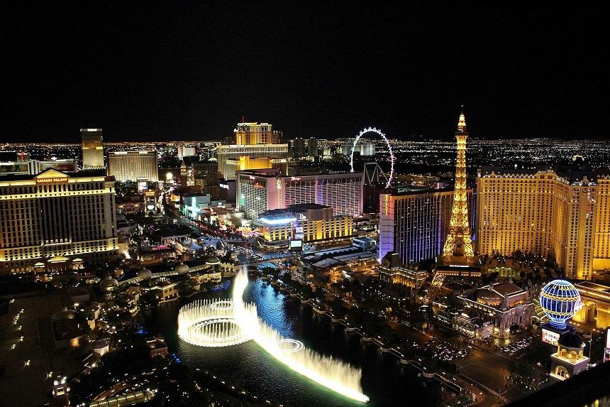 Las Vegas gokhoofdstad van de wereld