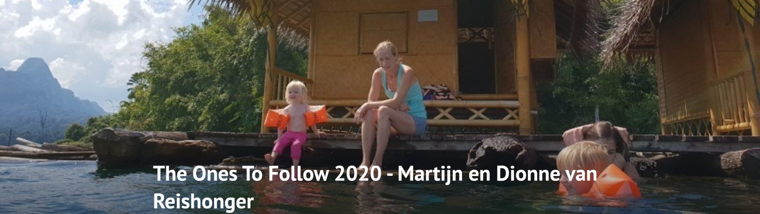 The Ones To Follow over de beste reisblogs van Nederland in 2020
