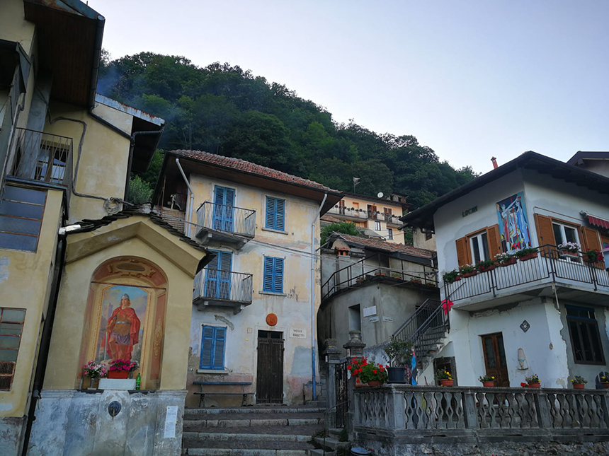 Chesio, Noord-Italië