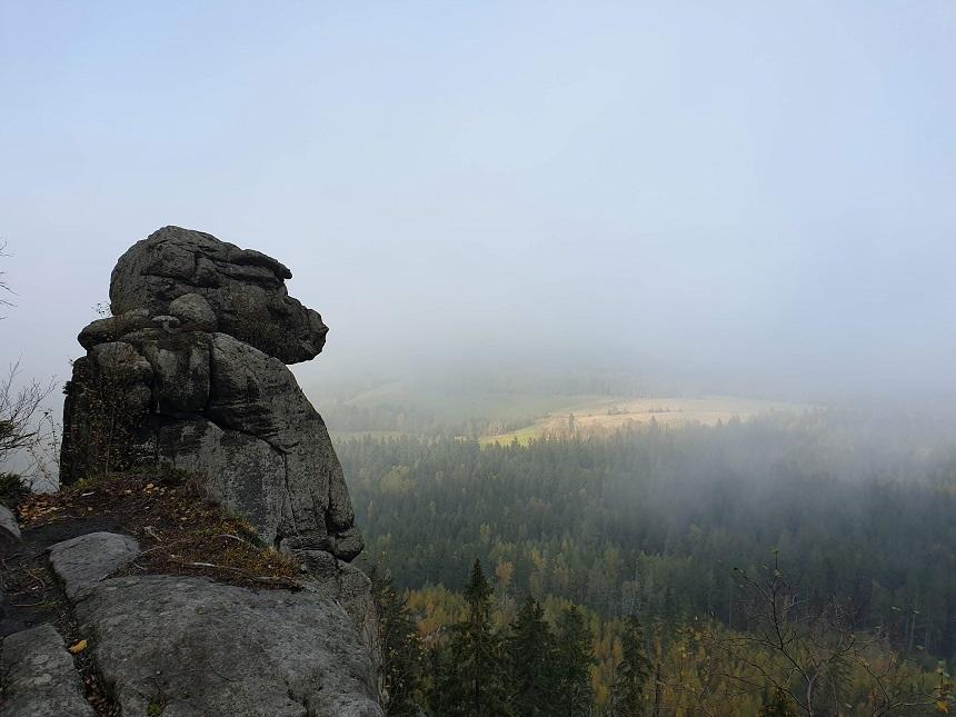 Mysterieuze rotsvormen in het Tafelgebergte