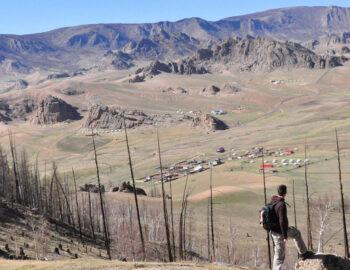 Slapen in een gertent in Mongolië (Heen en Onweer deel 9)