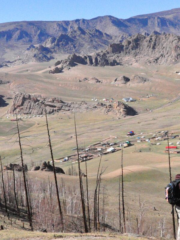 Uitzicht Mongolië