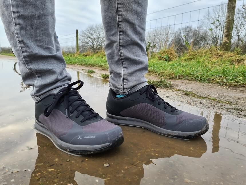 Waterafstotende schoen dankzij de milieuvriendelijk Eco Finish