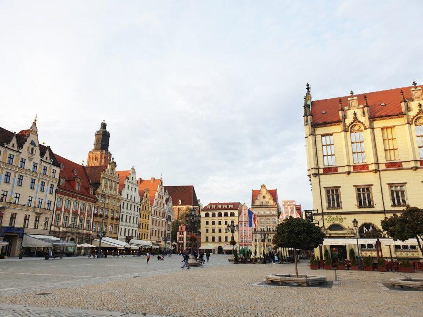 Wroclaw Marktplein
